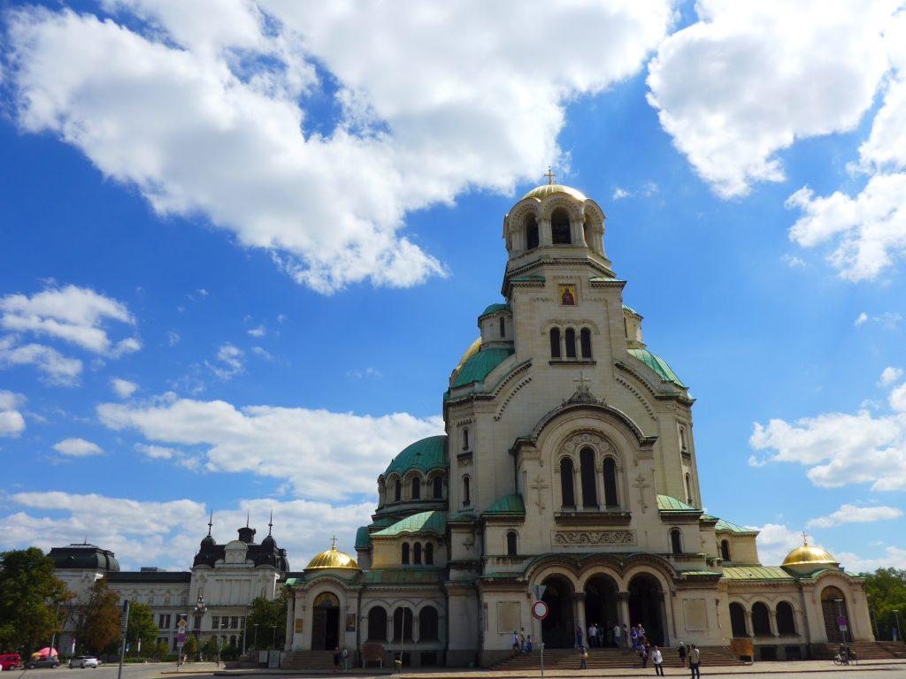 Catedral Alexander, Sofia, Bulgaria.
