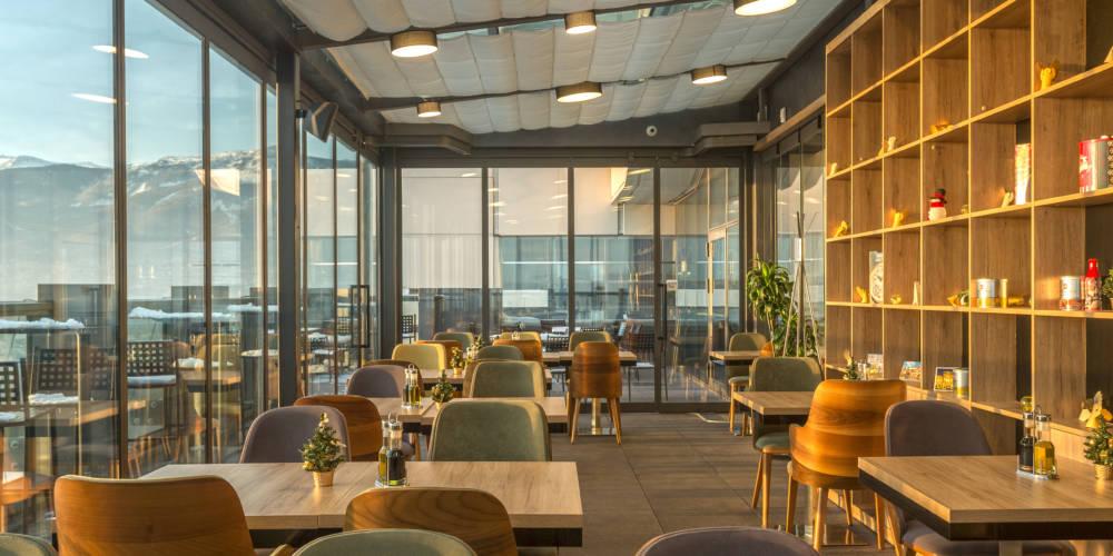 The View Restaurant, Sofia, Bulgária. Foto: divulgação
