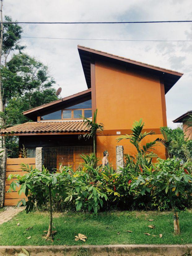 A casa de Itamambuca / Ubatuba - airbnb. Foto: Lalai Persson