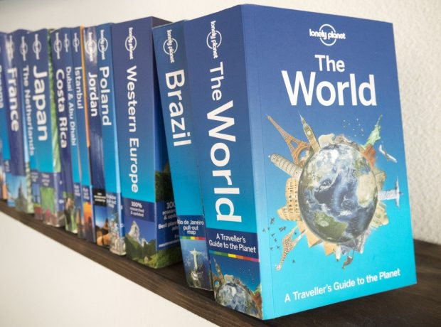 the world, lonely planet, natal dos livros, livros para viajantes